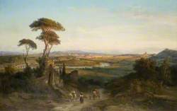 A Distant View of Rome
