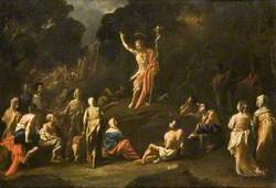 Saint John the Baptist Preaching in the Wilderness