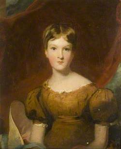 Portrait of a Girl in a Bronze Dress, possibly Jane Scratton