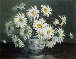 Daisies in a Chinese Vase