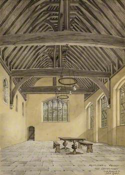 Prittlewell Priory, the Refectory