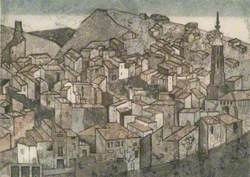 Monterde: View of Spanish Village