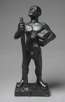 Model for 'Nude Friar'