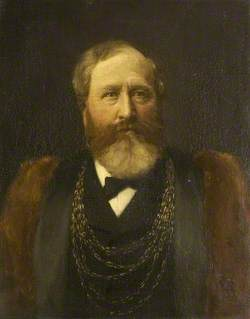 Alderman Alfred Francis, Mayor of Colchester (1883)