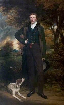 Marriage Portrait of Charles Hanson