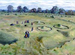Saxon Cemetery within Prehistoric Remains at Orsett