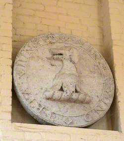 Roundel with Griffin Crest