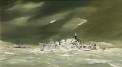 HMS 'Opportune', G80, 17th Destroyer Flotilla