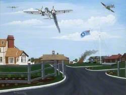 Heinkel Attack on North Weald Airfield