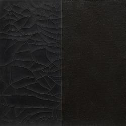 Black Gesso Study, Space IV