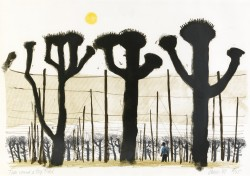 Trees round a Hop Field