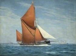 Sailing Barge 'Sara'