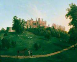 View of Powys Castle, Montgomeryshire