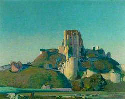 Evening Light, Corfe Castle