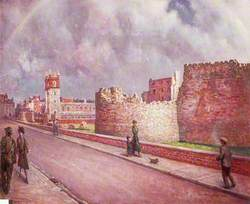 London Wall and St Giles Cripplegate