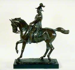 Edward VII (1841–1910) on Horseback with Baton