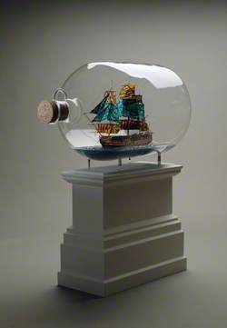 Nelson's Ship in a Bottle