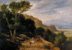 Landscape, Harlech Castle