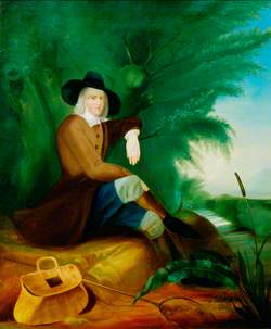 Izaak Walton (1593–1683), Author of 'The Compleat Angler'