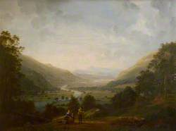 Langdale Valley with the River Brathay