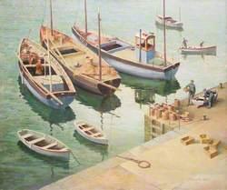 Fishing Boats, Mevagissey