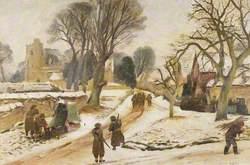 Village of Dinton, January 1941