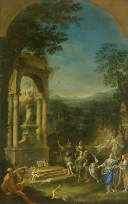Allegorical Tomb of Thomas Wharton (1648–1715), 1st Marquess of Wharton, Politician
