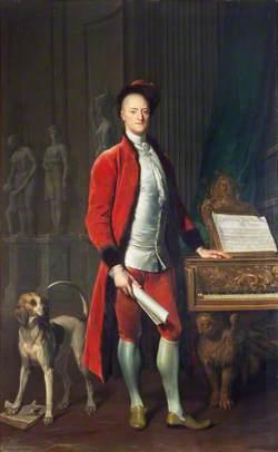 Carew Hervey Mildmay (1690–1784), MP for Harwich