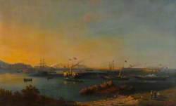 Queen Victoria Arriving at Alderney, 1859