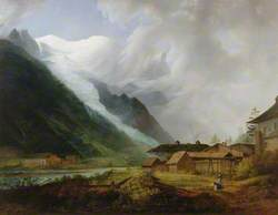 Mont Blanc, Glacier des Bossons, Chamonix