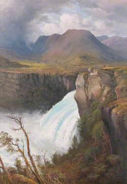 Huka Falls, North Island, New Zealand