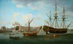 Deptford Dockyard: 'Les Trois Amis'