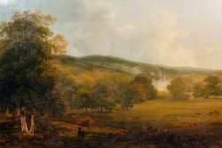 Castle Brahan, in the Highlands, the seat of Colonel Mackenzie