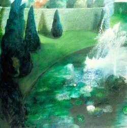 Formal Garden, Lily Pond