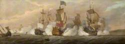 The Battle of Barfleur, 19 May 1692