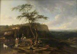 Landscape with a Fowling Party