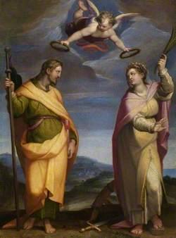 Saint James Major and Saint Catherine of Alexandria