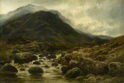 A Mountain Burn, Glen Shieldaig, Ross-shire