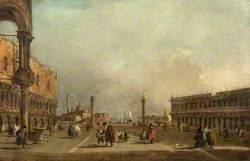 Venice: The Piazzetta di San Marco