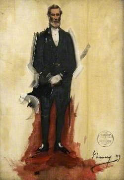 Bailie James Hunter Dickson (b.1824), Vice-Chairman of Glasgow International Exhibition (1888)
