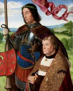 Saint Maurice (or Saint Victor) with a Donor