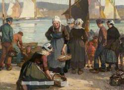 The Return of the Sardine Fishers, Concarneau