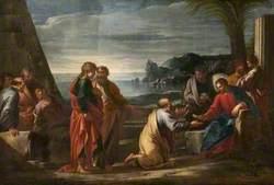 Christ Giving the Keys to Saint Peter