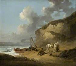 Sea-Coast Scene, Smugglers