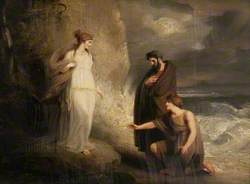 Telemachus Landing on the Isle of Calypso