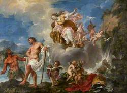 The Purification of Aeneas in the River Numicius