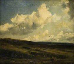 Landscape with Clouds