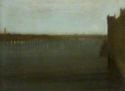 Nocturne: Grey and Gold, Westminster Bridge