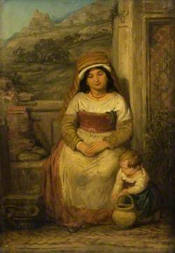 Roman Mother and Child