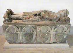 Effigy of Don Ramon Peralta Y Espes (d.1348)